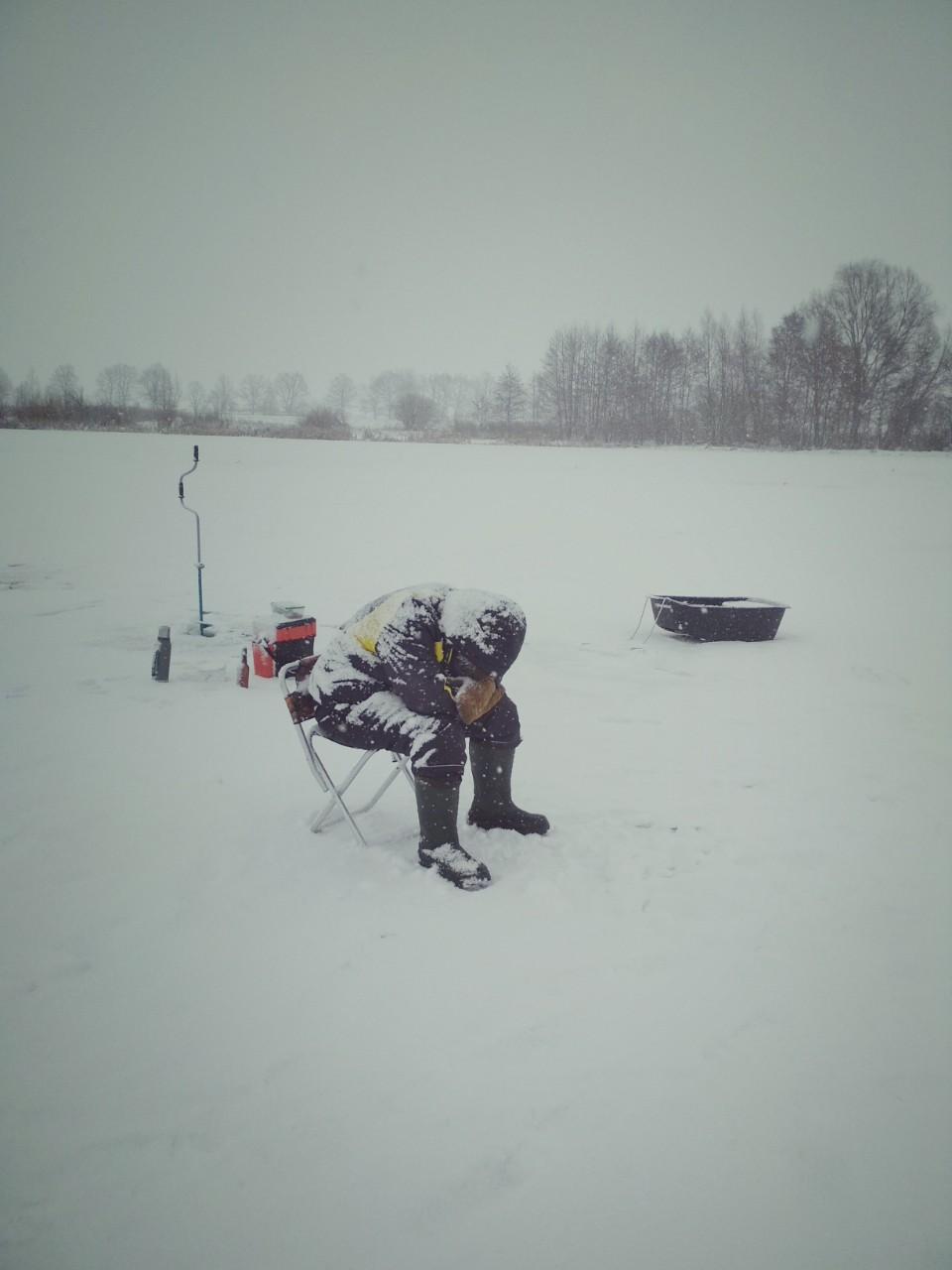 Зимняя рыбалка в окрестностях кыштыма